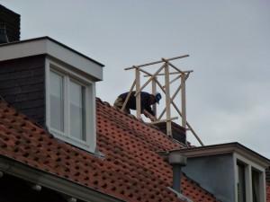 Vervanging schoorsteen